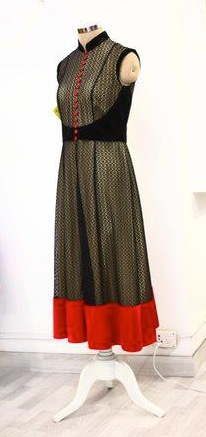 I bought this anarkali as part of my trousseau! It was reasonable - around 9k or 11k.