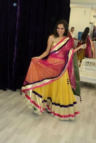 Pretty & colourful lehenga