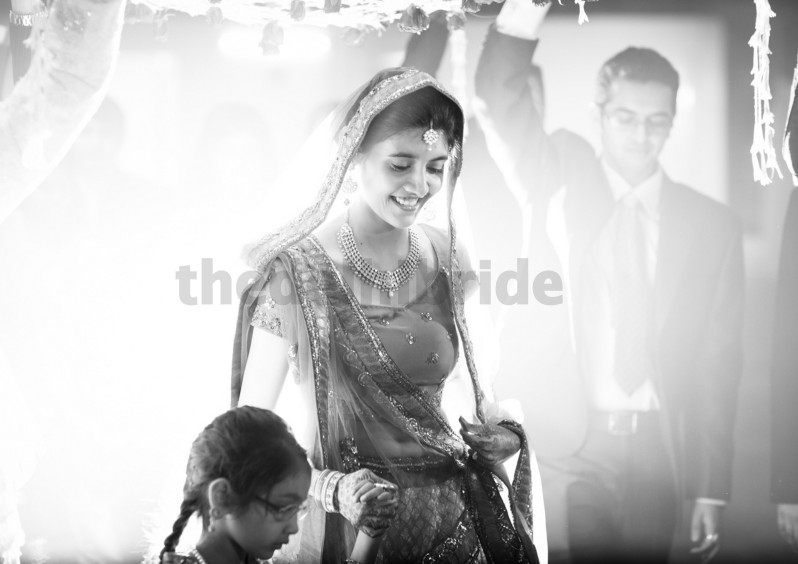 Motto for brides: When in doubt, smile.