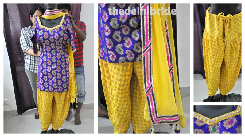 A patiala suit for a wedding guest