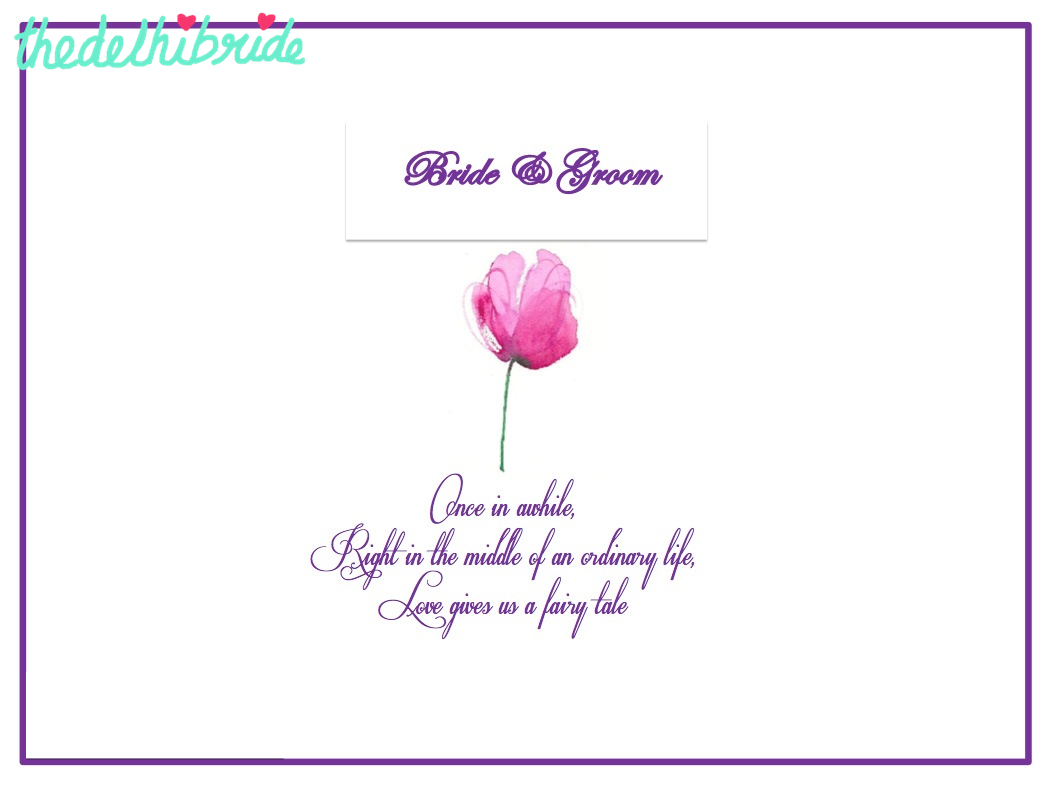 wedding invites | thedelhibride Indian Weddings blog