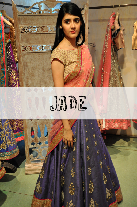 JADE by Monika & Karishma trousseau destination