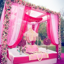 Elements wedding decor main area Sahiba wedding Photo Tantra
