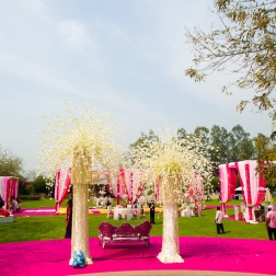 Elements wedding decor Sahiba wedding Photo Tantra stage gazebos