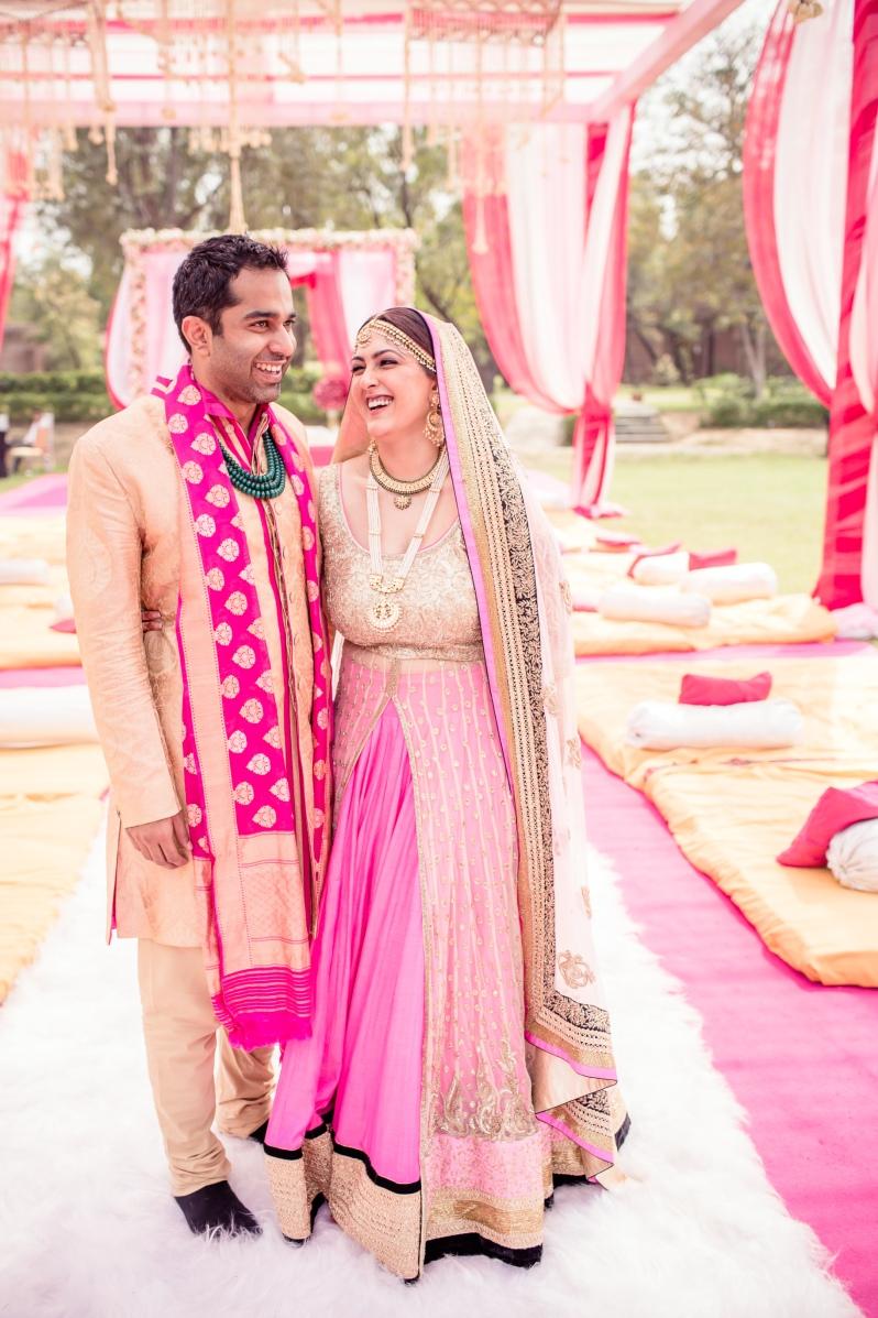 Sahiba Photo Tantra Ritika Mirchandani Sikh wedding jacket lehenga