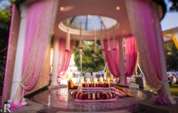 wedding design company decor pink