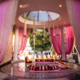 wedding design company decor pink