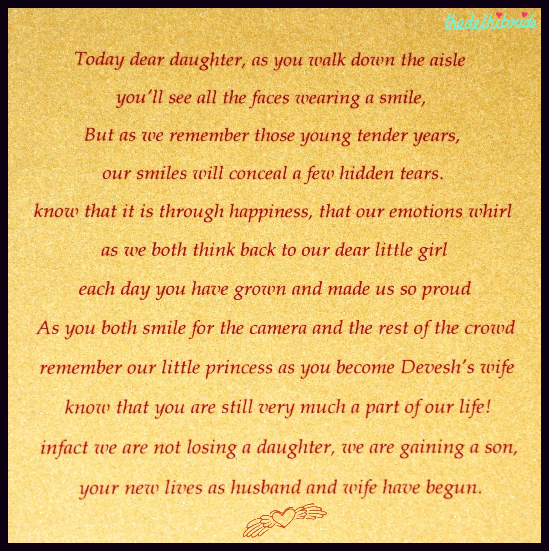inspiration words for a wedding card an indian wedding blog