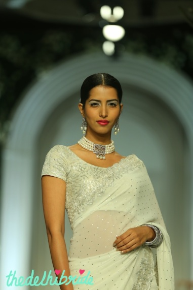 At the India Bridal Fashion Week - Models in Meera Muzaffar Ali 2