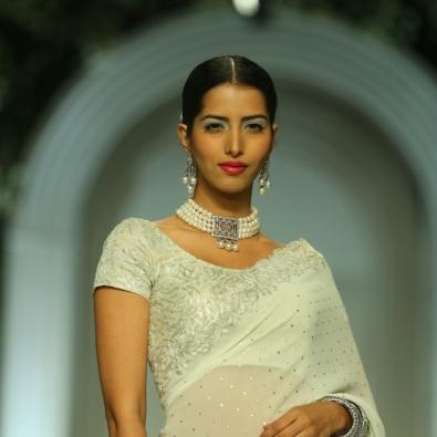 At the India Bridal Fashion Week - Models in Meera Muzaffar Ali 2