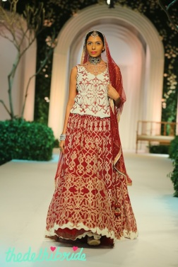 At the India Bridal Fashion Week - Models in Meera Muzaffar Ali 4