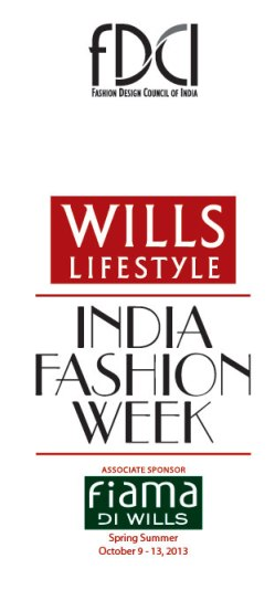 FDCI Wills India Fashion Week