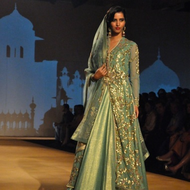 I liked the gota patti work jacket, but not the lehenga