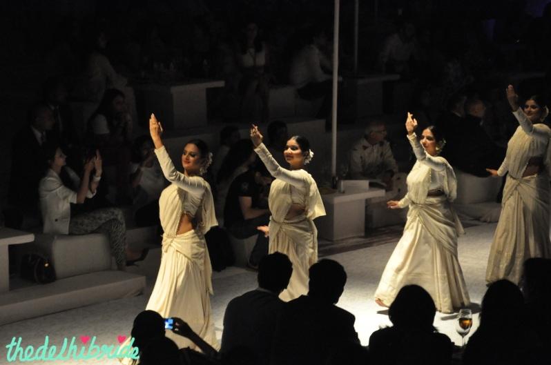 The elegant Kathak dancers