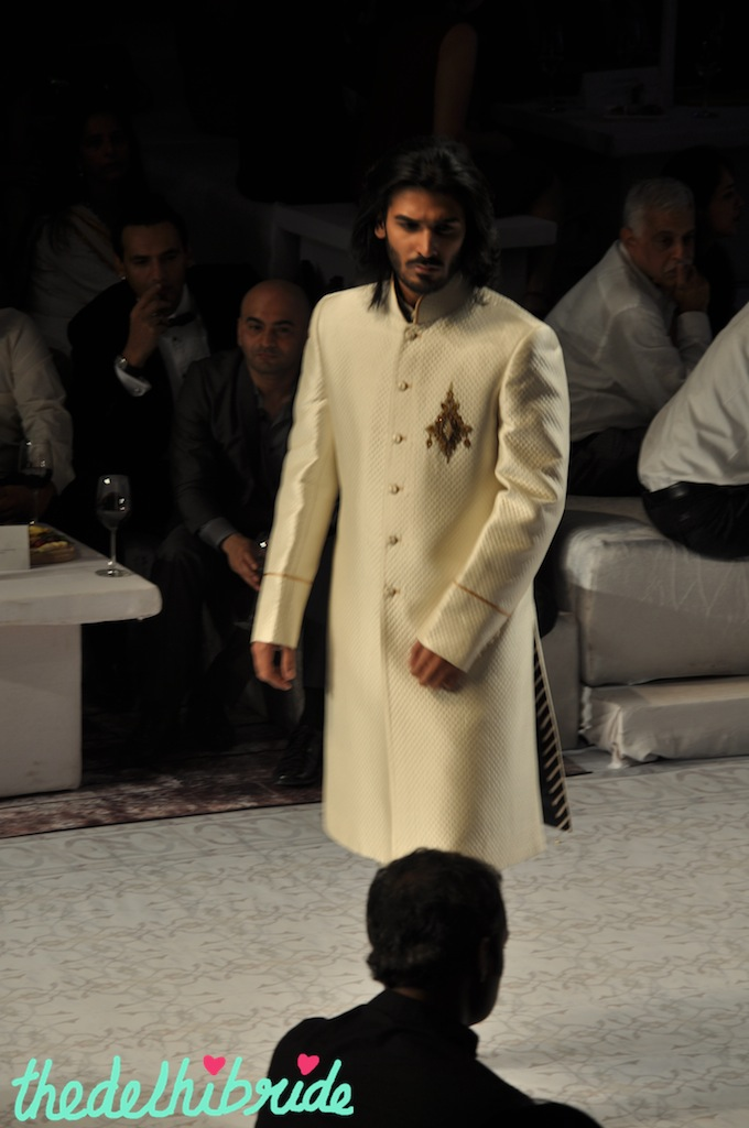 This sherwani looked a lot like the one my husband wore on our wedding!