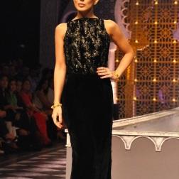 Velvet gown