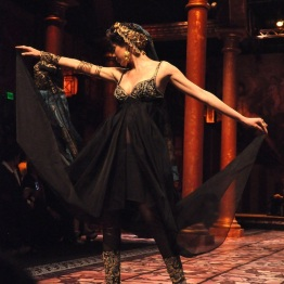 The models struck many a dramatic ROMAN pose :)