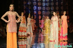 India Bridal Fashion Week -Models in Rina Dhaka Collection
