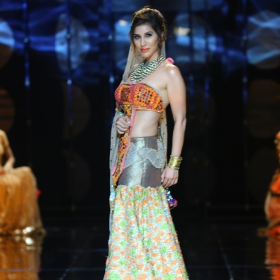 India Bridal Fashion Week - Sophie Choudhary seen in Rina Dhaka Collection 1