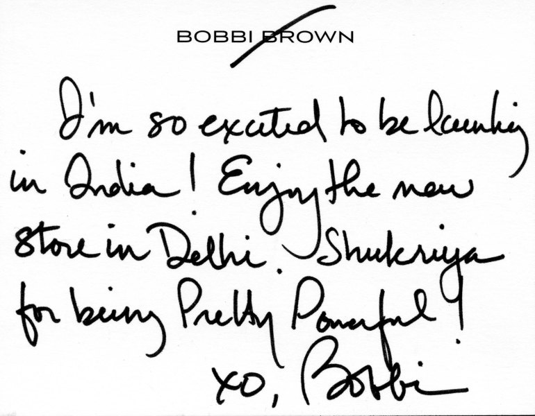 IndiaNote_From_BobbiBrown