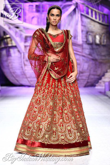 jj valaya india bridal fashion week 2013
