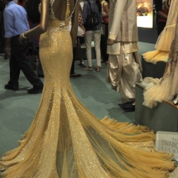 Real capture of this gown from the back