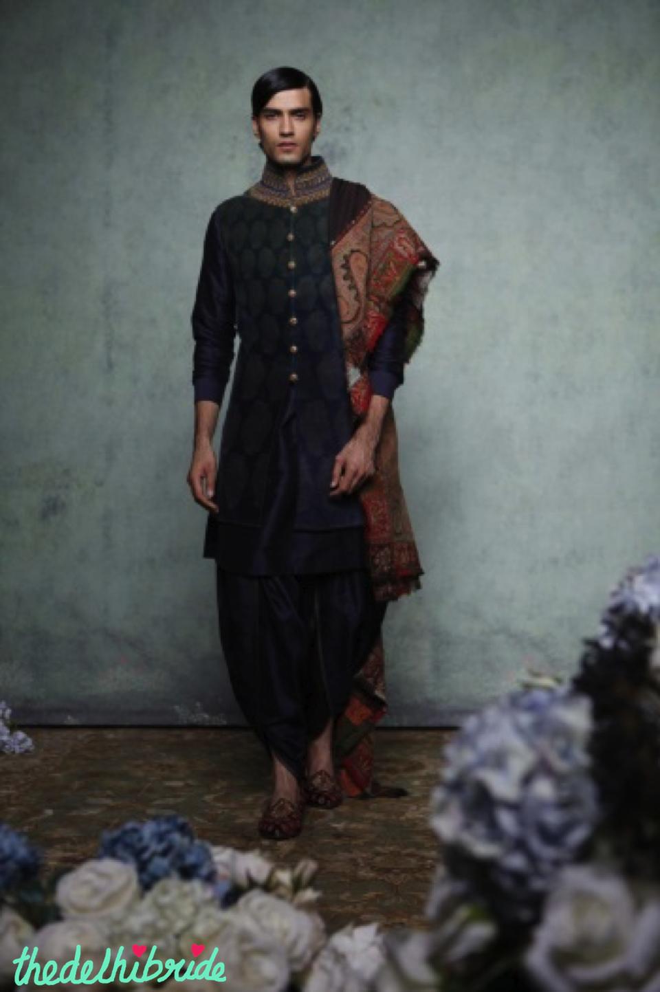 Bridal and groom wedding wear by tarun tahiliani