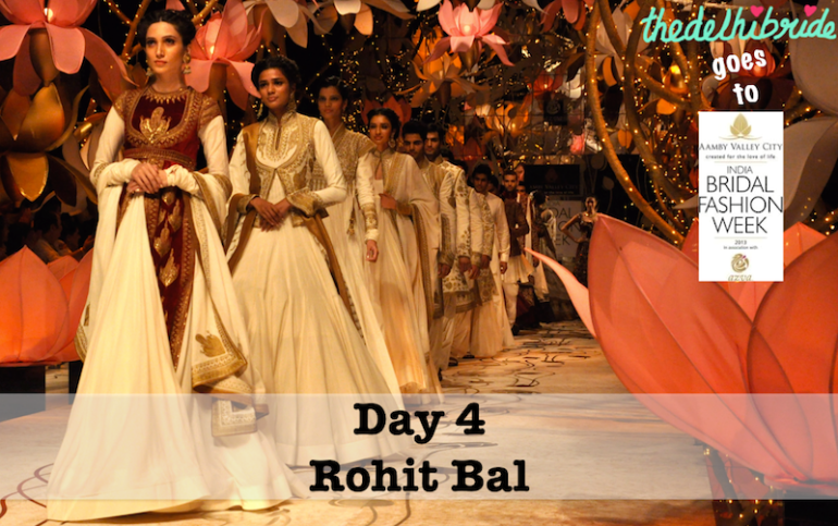 thedelhibride Rohit Bal IBFW 2013