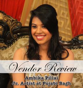 Ambika Pillai engagament bridal makeup review