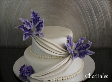 choc tales wedding cake 1