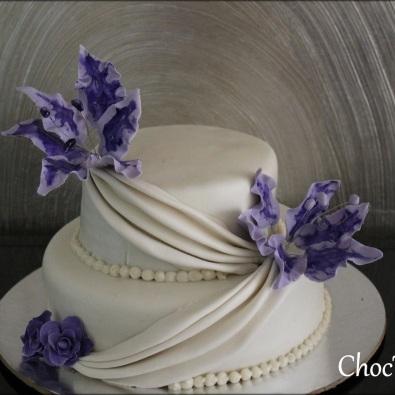 choc tales wedding cake 1