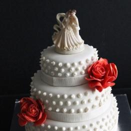 Choc Tales wedding cake 6