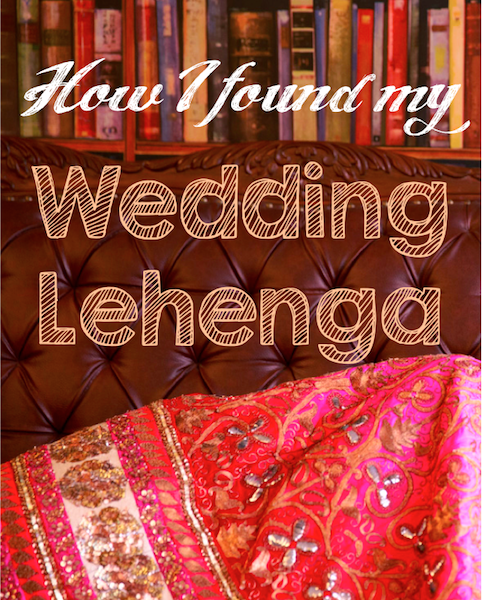 how i found my Indian wedding lehenga chandni chowk om prakash jawaharlal