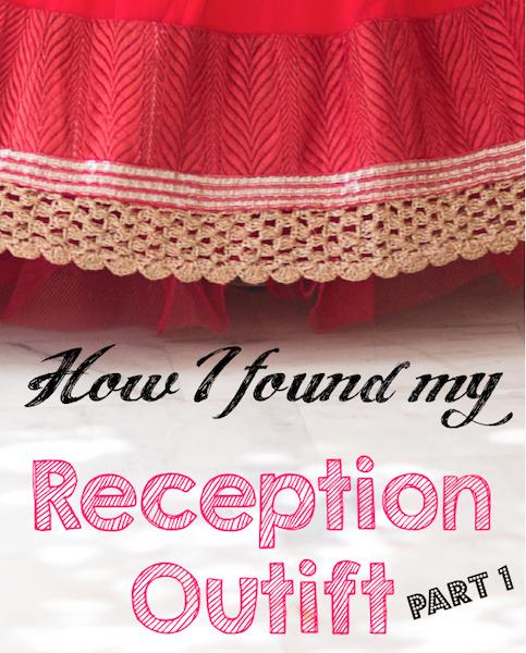 how i found my Indian wedding reception outfit jacket lehenga rakhi & vandana 2