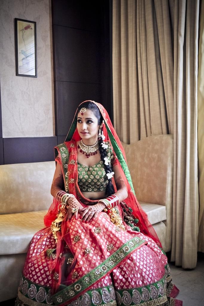 sitting prathna best wedding lehenga 2012