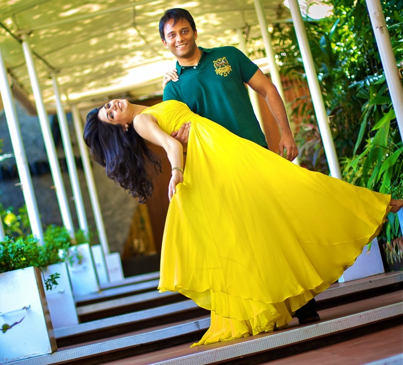 Yellow gown for Youngster's Brunch