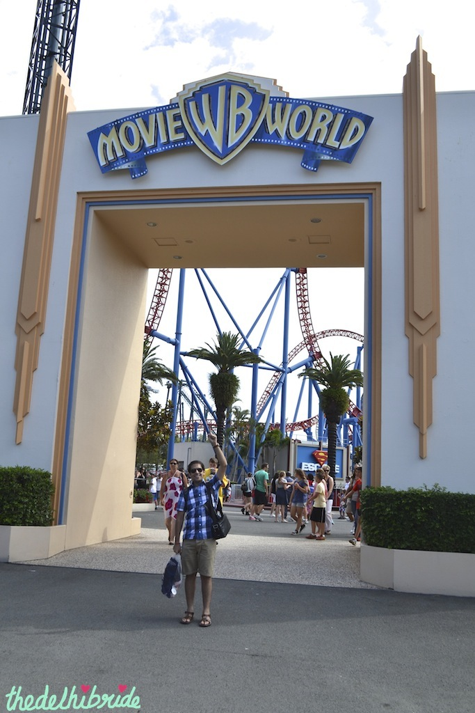 Entry to Movie World