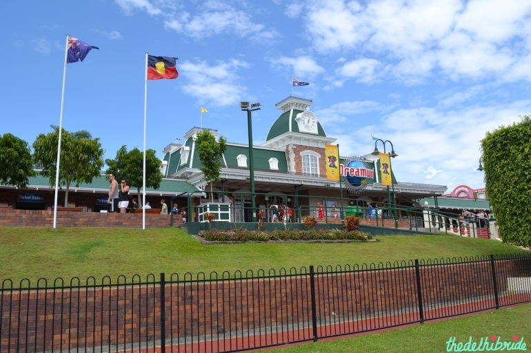 Entry to DreamWorld