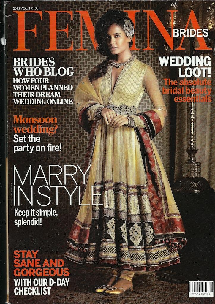 femina brides cover