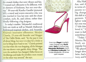 Harper's Bazaar Shinjini Amitabh Chawla thedelhibride