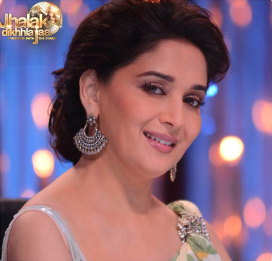 Madhuri silver earrings Jhalak