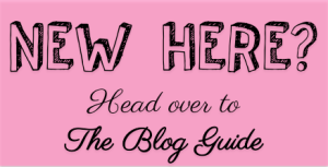 New Here? Go to the Blog Guide
