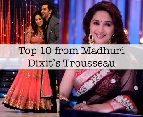 Top 10 from Madhuri Dixit Nene Jhalak Dikhhla Jaa season 6 outfits
