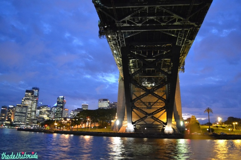 Under Harbour Bridge
