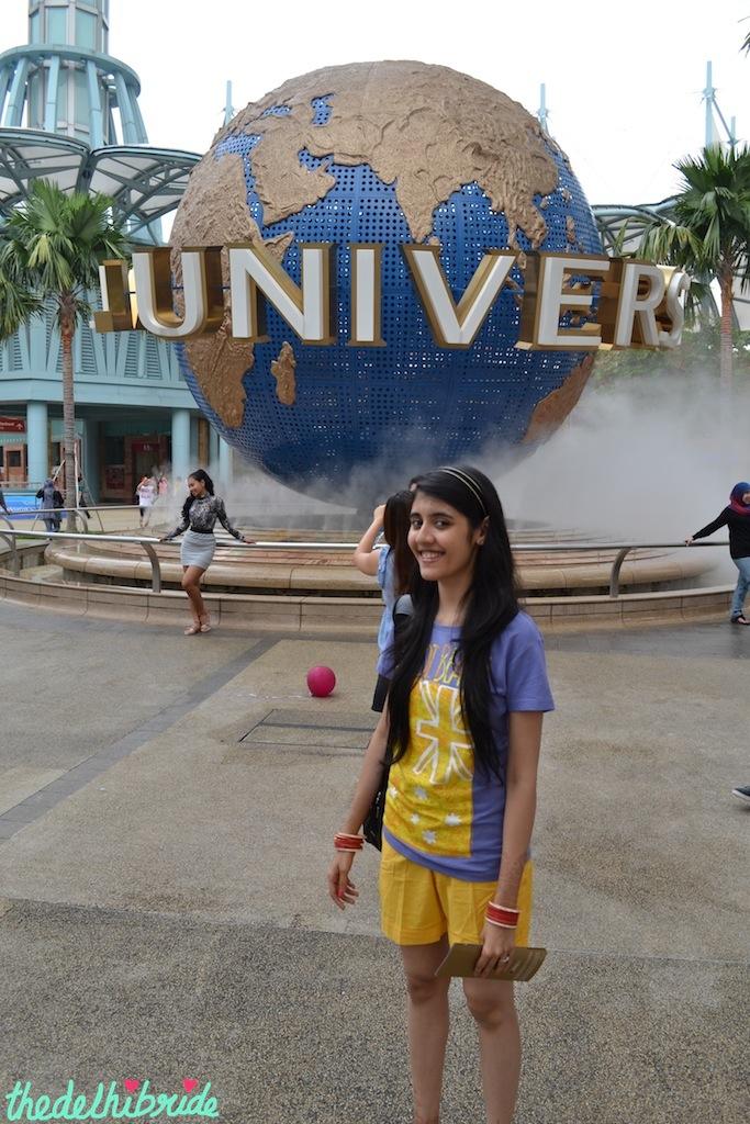 At Universal Studios