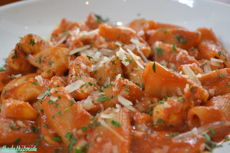 pasta at eat love pizza italian restaurant darling harbour sydney