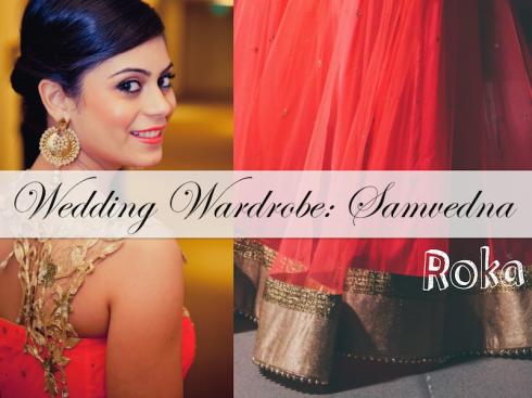 Wedding Wardrobe Samvedna cover Monika Nidhii