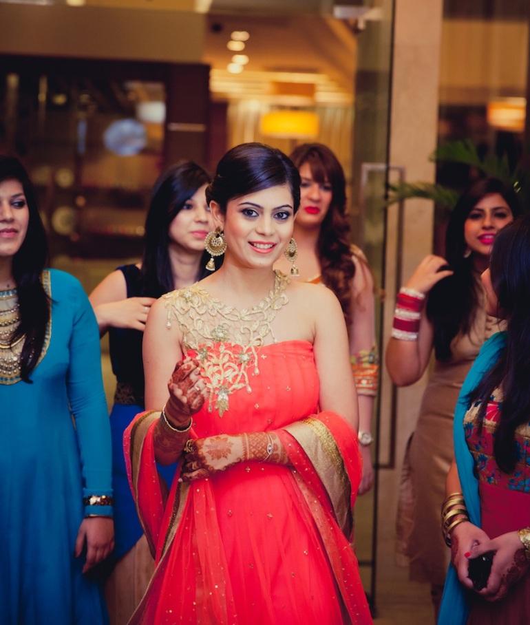 wedding wardrobe samvedna Monica Nidhi shahpur jat Mahima Bhatia photography 10