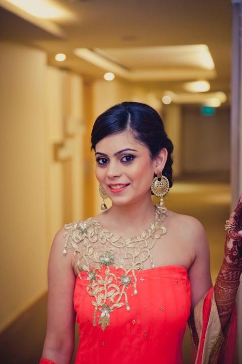 wedding wardrobe samvedna Monica Nidhi shahpur jat Mahima Bhatia photography 6