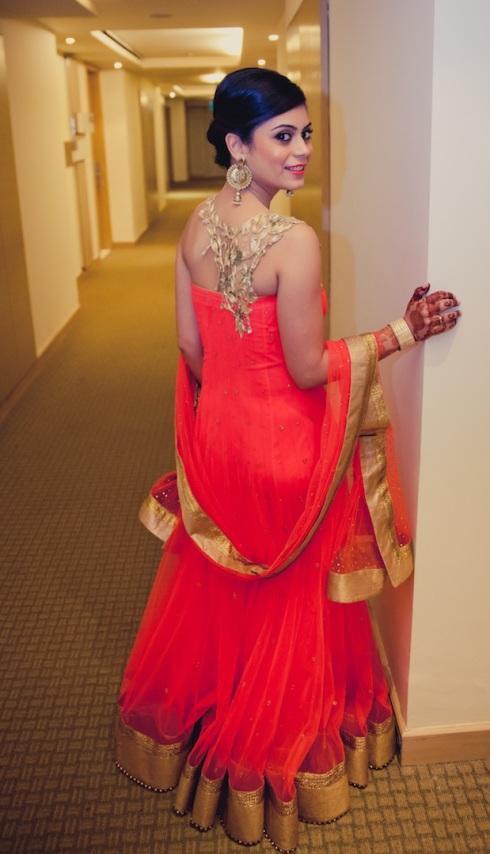wedding wardrobe samvedna Monica Nidhi shahpur jat Mahima Bhatia photography 7